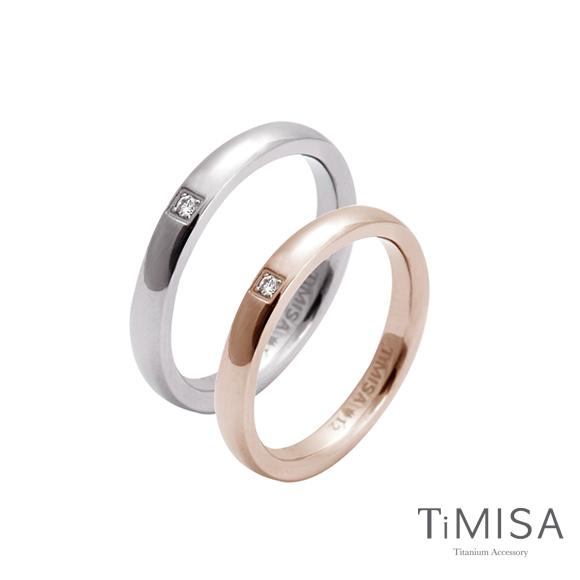 【TiMISA】愛戀 純鈦對戒