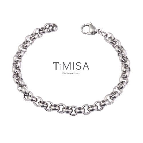 【TiMISA】風之戀(M) 純鈦手鍊