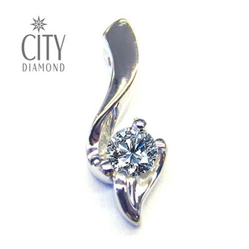 City Diamond『情定巴黎』30分鑽石項鍊 (遠銀卡友專屬)