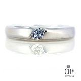 City Diamond『情定曼哈頓』10分男鑽戒