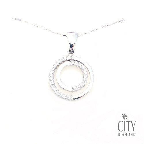 City Diamond『北極之戀』K金項鍊
