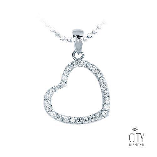 City Diamond Amor系列 K金項鍊_ZP1919W