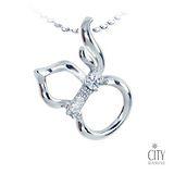 City Diamond Amor系列 K金項鍊 ZP2023W