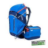 MindShift 曼德士 Gear rotation 180° Horizon 戶外登山攝影 相機背包 34L(MS216A,全配,藍色)