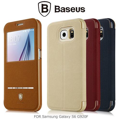 BASEUS 倍思 Samsung Galaxy S6 G920F 簡約皮套