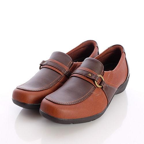日本製輕熟男女機能鞋-輕熟女休閒鞋-EVE224CA7咖啡(22.5cm-25cm)