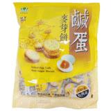 彰化【昇田食品】鹹蛋麥芽餅 500g (蛋奶素)