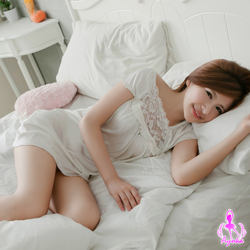 Ayoka 柔情魅力!柔緞睡衣