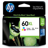 【HP】CC644WA/NO.60XL 原廠高容量彩色墨水匣