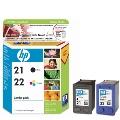 HP CC630A (NO.21+NO.22) 組合包原廠墨水匣