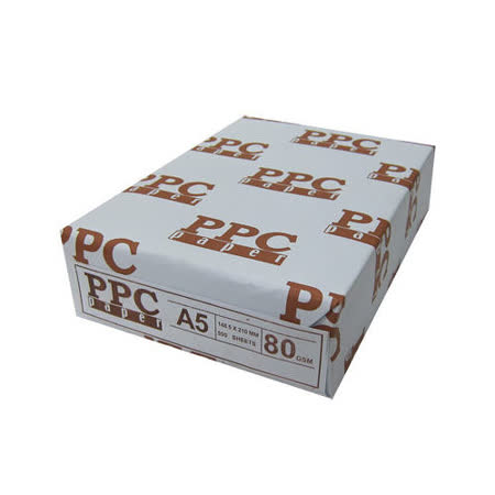 PPC 80P A5 影印紙1箱10包