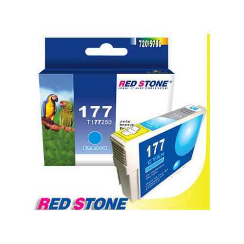 RED STONE for EPSON NO.177/T177250墨水匣(藍色)