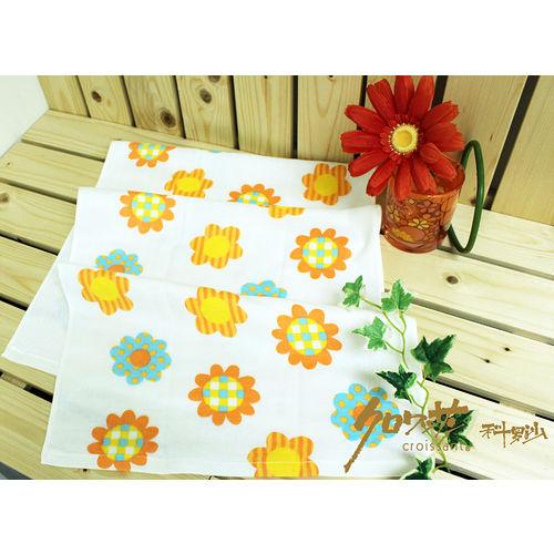 【クロワッサン科羅沙】日本毛巾~Japanese style 「かわいい」太陽花 毛巾 34*90CM