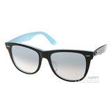 RAY BAN 太陽眼鏡 Wayfarer(水藍) #RB2140F 10013F-54mm
