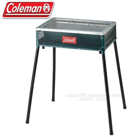 美國 Coleman 酷立架 高低可調烤肉箱