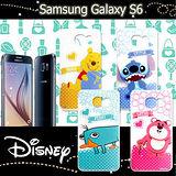 迪士尼授權正版 三星 SAMSUNG GALAXY S6 G9200 休閒點點透明軟式保護套 手機殼 (新秀組)