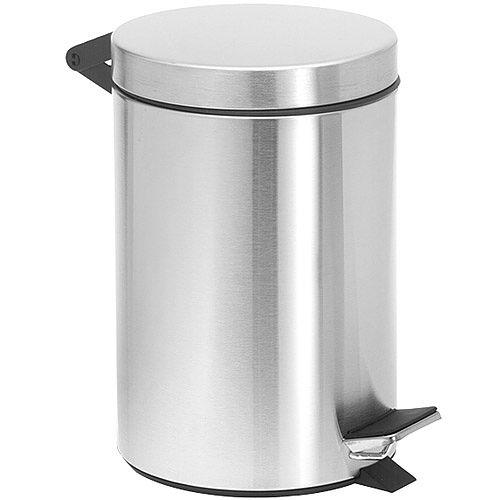 《BLOMUS》Nexio腳踏垃圾桶(霧銀2.5L)