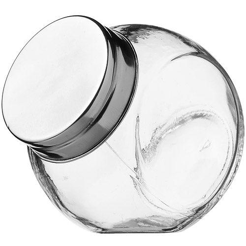 《KitchenCraft》斜式玻璃密封罐 180ml