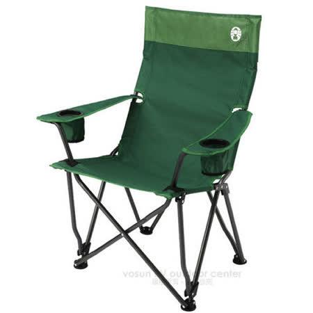 美國Coleman 高背舒壓椅_CM-0503 綠