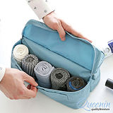 DF Queenin - 韓版衣襪專屬旅行收納包-共4色