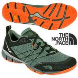 【美國 The North Face】男新款 ULTRA KILOWATT 透氣耐磨戶外多功能鞋 CCF8 月桂冠綠/螢光橘