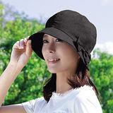 日本Alphax輕量小顏美型防曬帽