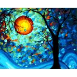ArtLife藝術生活【66191】梵谷 夢之樹 DIY 數字 油畫 彩繪 40*50cm