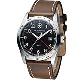 Victorinox 維氏 步兵系列兩地時間GMT腕錶 VISA-241648