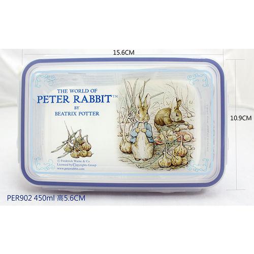 【クロワッサン科羅沙】Peter Rabbit~ 經典比得兔保鮮盒902-450ml
