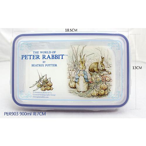 【クロワッサン科羅沙】Peter Rabbit~ 經典比得兔保鮮盒903-900ml