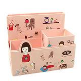 【iSFun】創意DIY*桌面雜物收納盒