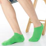 【KEROPPA】可諾帕網狀造型加大船襪x4雙(學生專用)C97001-X芥末綠