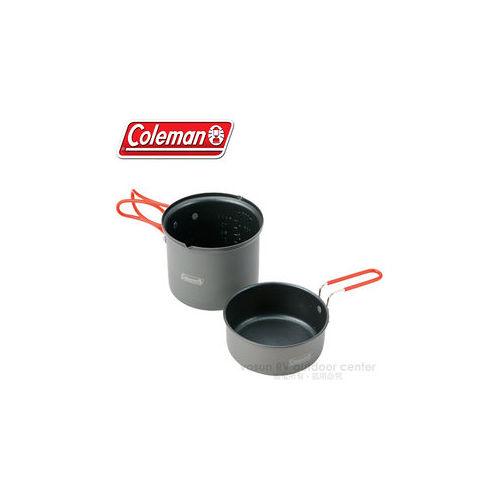 【美國 Coleman】Packway單鍋組.個人鍋具2件組.附收納網袋  / CM-2957