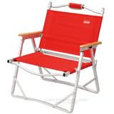 【美國Coleman】輕薄摺疊椅.鋁合金休閒椅 / CM-7670 紅