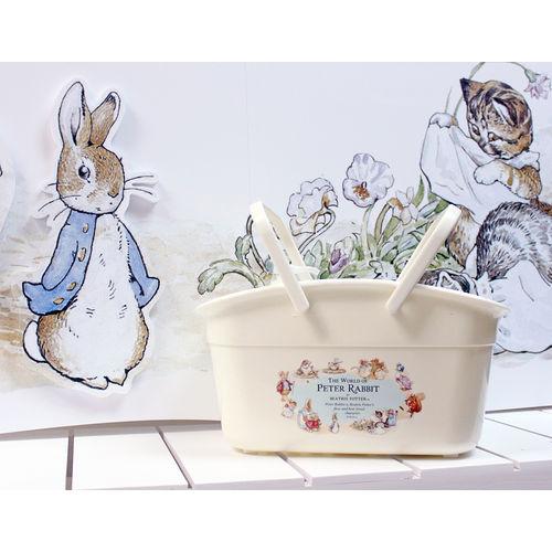 【クロワッサン科羅沙】Peter Rabbit~ 經典比得兔 STORY系列多用途手提籃中 682242