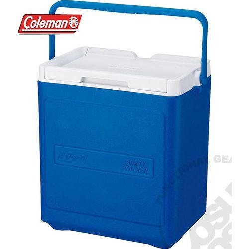 【美國 Coleman】 17L置物型冰桶(原廠公司貨).行動冰箱.行動冰筒.小型冰箱.冰筒.冰箱/ 藍_CM-1322