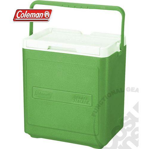 【美國 Coleman】 17L置物型冰桶(原廠公司貨).行動冰箱.行動冰筒.小型冰箱.冰筒.冰箱/ 綠_CM-1323