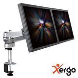 【Xergo】雙延伸臂雙螢幕夾桌支撐架-EM43116