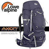 【英國 LOWE ALPINE】新款 AXIOM DIRAN ND65:75 登山健行背包(含背包套) /FMP51AU 茄紫