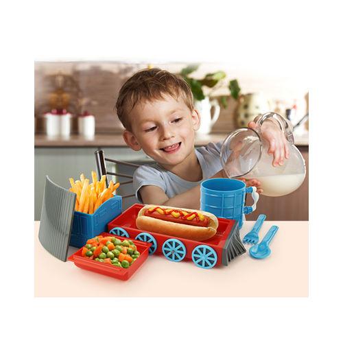 KIDSFUNWARES 歡樂火車兒童餐具組