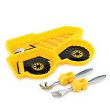 【KIDSFUNWARES】造型兒童餐盤組-工程車