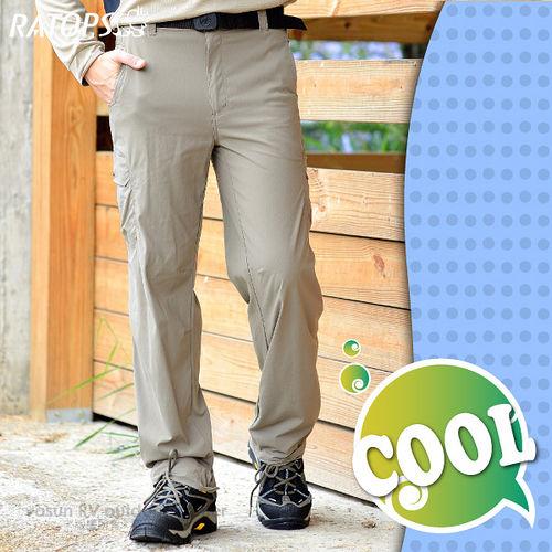 【瑞多仕-RATOPS】男款 彈性快乾休閒長褲.休閒褲 / DA3183 綠卡其色