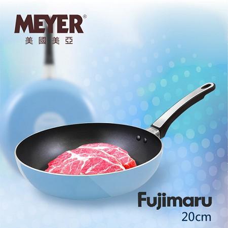 MEYER Fujimaru藍珊瑚單柄不沾平底鍋 20CM(無蓋)