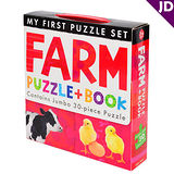 【英國Caterpillar原文童書】My First Puzzle Set-Farm 地板大拼圖