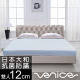 Venice日本防蹣抗菌12cm記憶床墊-雙人5尺