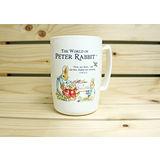 【クロワッサン科羅沙】Peter Rabbit~ 經典比得兔馬克杯 高1552 白