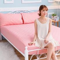 J-bedtime-防汙<BR> 雙人床包式防塵保潔墊