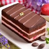 ★艾波索-小幸福系列草莓黑金磚12公分★2012、2014母親節蛋糕評比季軍★月狂銷破萬顆★美味搜查線熱情推薦