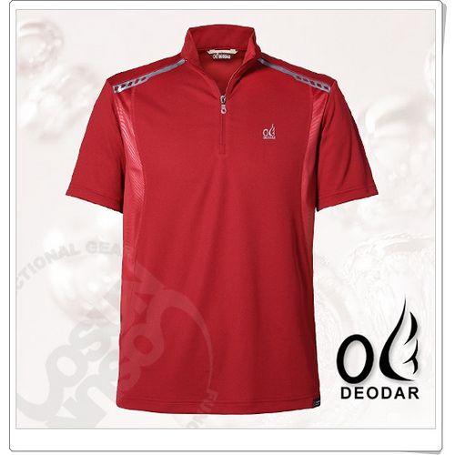 【DEODAR】美國 Polartec Power Dry 男 雷射壓紋短袖POLO衫