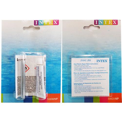 INTEX 充氣泳具.充氣玩具 游泳池修補貼 1盒  修補膠 1盒